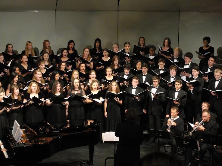 GU concert choir