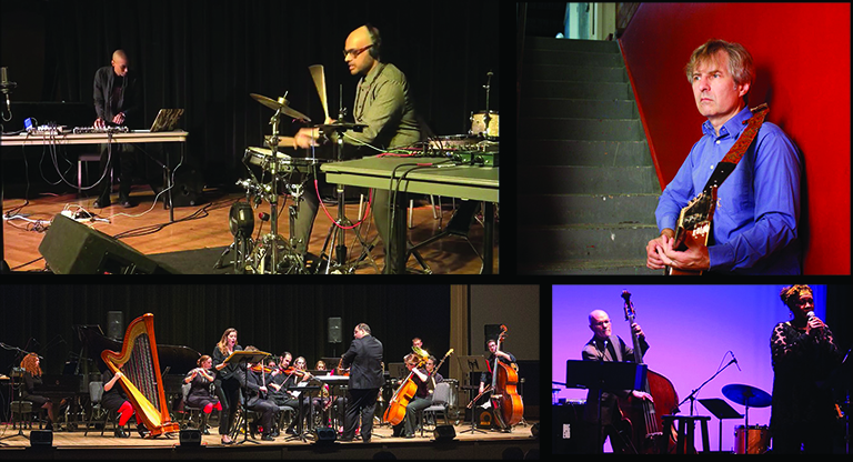 Fall 2018 Friday Music Series artists